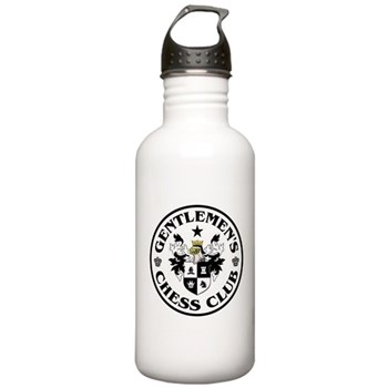 Gentlemen's Chess Club Stainless Water Bottle 1.0L