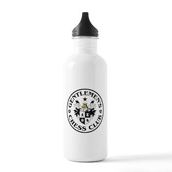 Gentlemen's Chess Club Stainless Water Bottle 1.0L