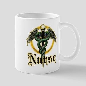 Nurse Caduceus Mug
