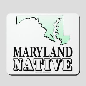 Maryland native Mousepad