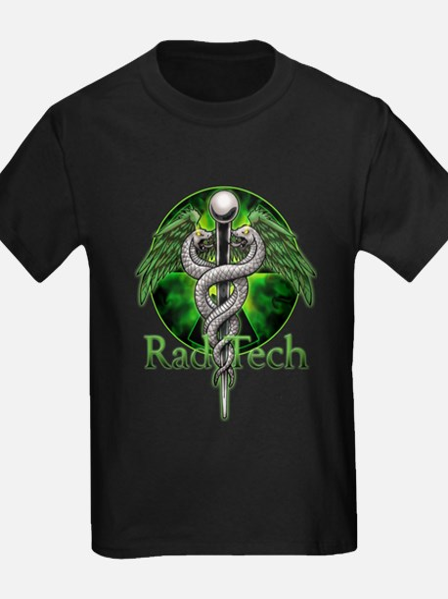 Rad Tech Caduceus Green T