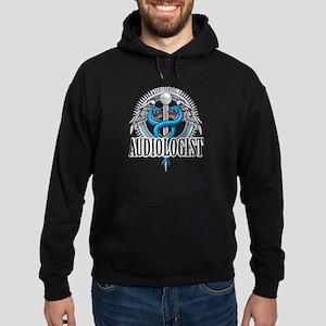 Audiologist Caduceus Hoodie (dark)