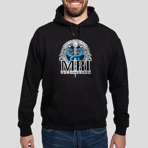 MRI Tech Caduceus Blue Hoodie (dark)