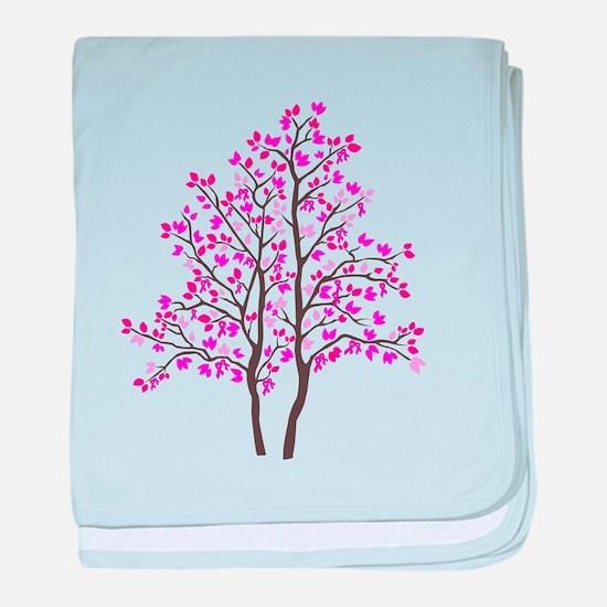 pink tree Infant Blanket