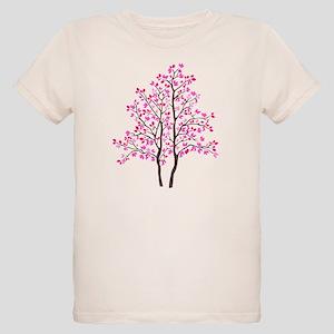 pink tree Organic Kids T-Shirt