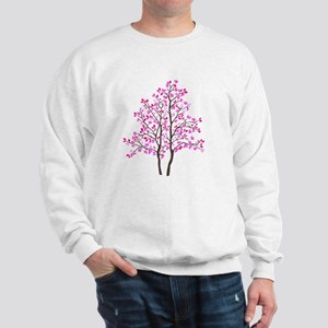 pink tree Sweatshirt