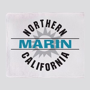 Marin California Throw Blanket