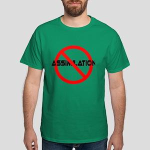 NO ASSIMILATION Star Trek Dark T-Shirt