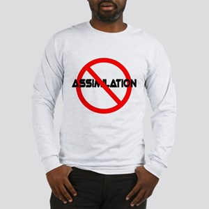 NO ASSIMILATION Star Trek Long Sleeve T-Shirt