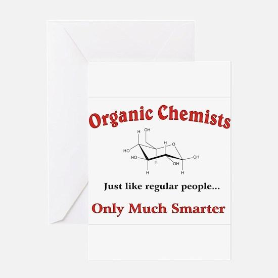 Organic Chemists just like regular people Greeting