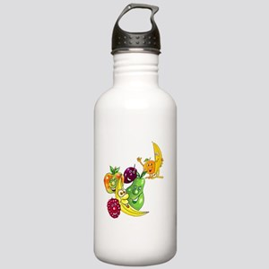 Healthy Happy Fruit Stainless Water Bottle 1.0L