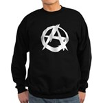 Anarchy-Blk-Whte Sweatshirt (dark)