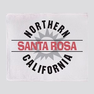 Santa Rosa California Throw Blanket