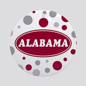Celebrate Alabama Ornament (Round)