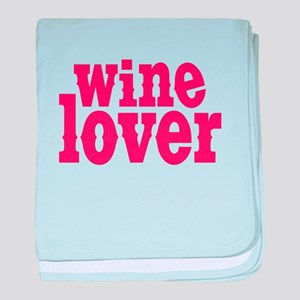 Wine Lover Infant Blanket