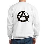 Anarchy-Blk-Whte Sweatshirt