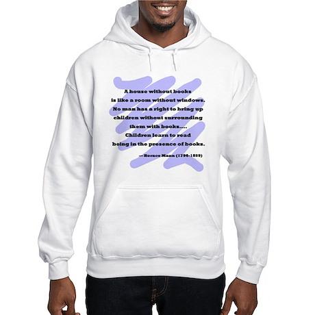Horace Mann Quote Hooded Sweatshirt