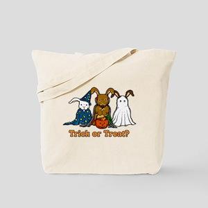Halloween Rabbits Tote Bag