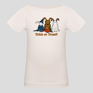 Halloween Rabbits Organic Baby T-Shirt