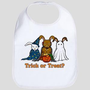 Halloween Rabbits Bib