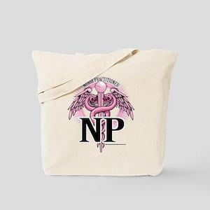 Nurse Practitioner Caduceus P Tote Bag