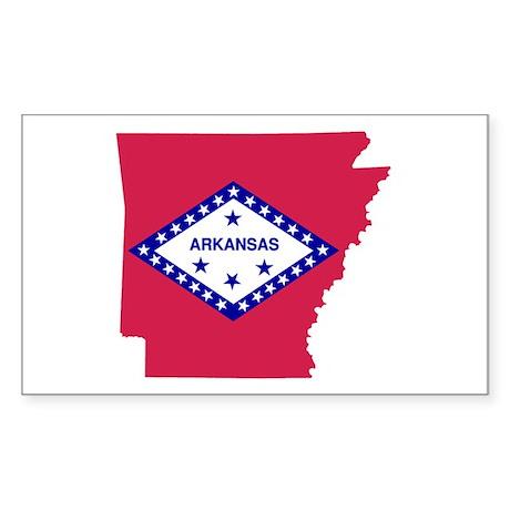 Arkansas Sticker (Rectangle)