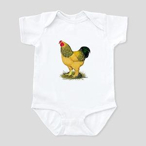 Brahma Buff Rooster Infant Bodysuit