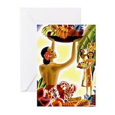 Frank Macintosh Fruit Basket Greeting Cards (Packa