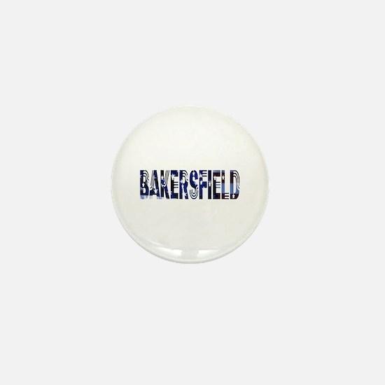 Bakersfield Stars & Strips Mini Button