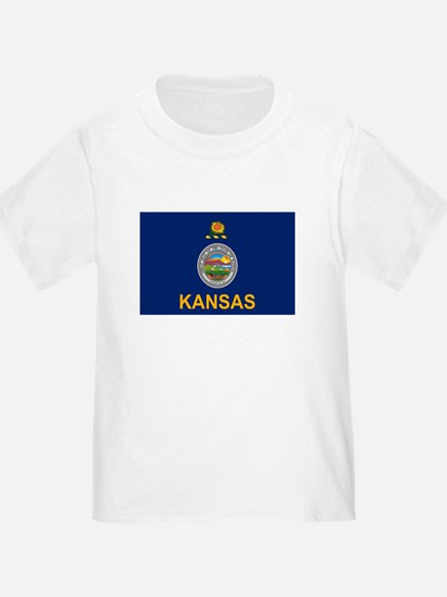 Kansas Flag T