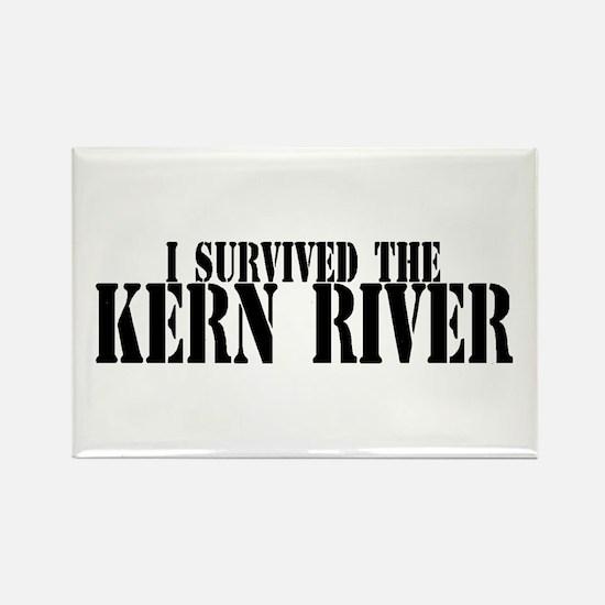 I survived the Kern River Rectangle Magnet