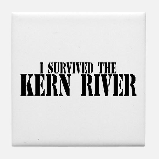 I survived the Kern River Tile Coaster