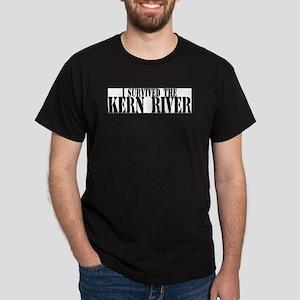 I survived the Kern River Black T-Shirt