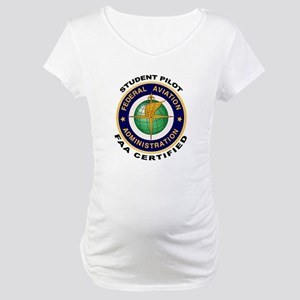 Student Pilot Maternity T-Shirt