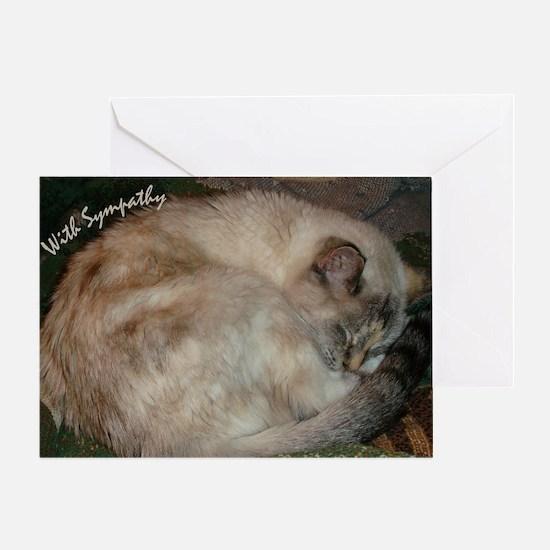 LD Cat Sympathy Card
