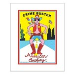 CRIME BUSTERS(American Cowboy) Small Poster