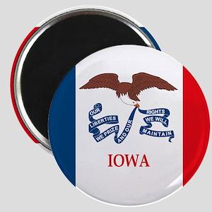 "Iowa Flag 2.25"" Magnet"