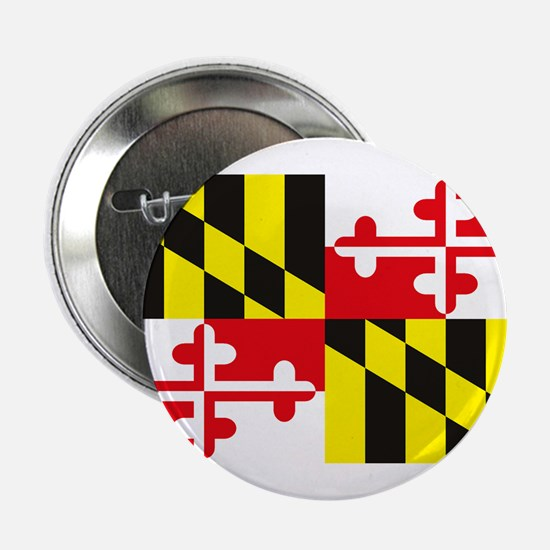 "Maryland Flag 2.25"" Button (10 pack)"