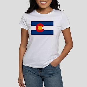 Colorado Flag Women's T-Shirt