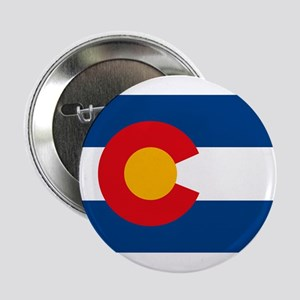 "Colorado Flag 2.25"" Button"