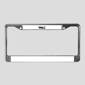 Mantle Great Dane, Lazy Dane License Plate Frame