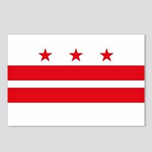 District of Columbia Flag Postcards (Package of 8)