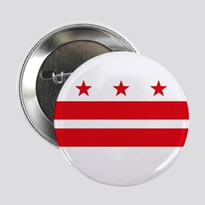 """District of Columbia Flag 2.25"""" Button (10 pack)"""