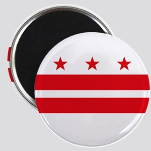 """District of Columbia Flag 2.25"""" Magnet"""
