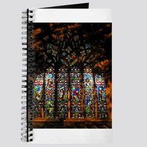 Stained Glass Window Christ ( Journal