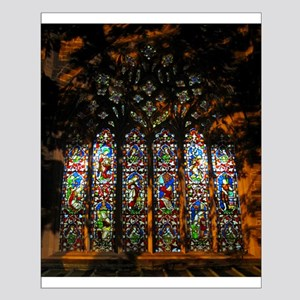 Stained Glass Window Christ ( Small Poster