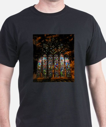 Stained Glass Window Christ ( T-Shirt