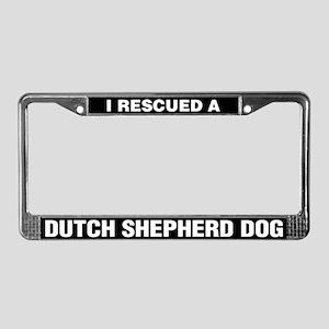 I Rescued a Dutch Shepherd Dog