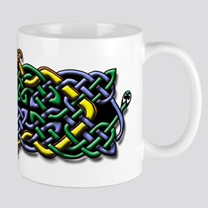 Four Serpants Celtic Knot Mug