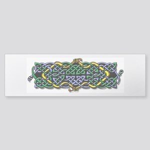 Four Serpants Celtic Knot Bumper Sticker